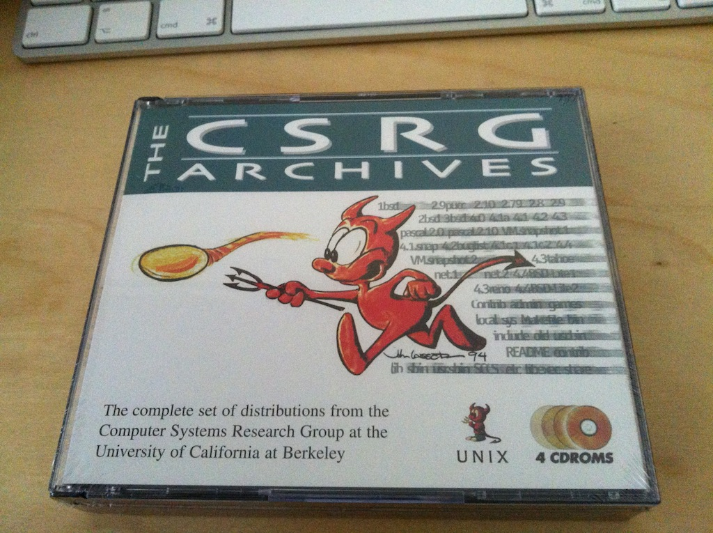Front cover for CSRG Archives cd set