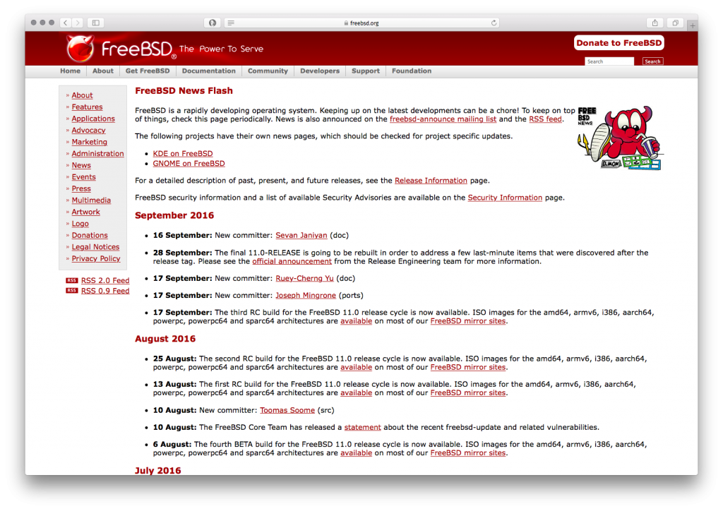 FreeBSD News Flash